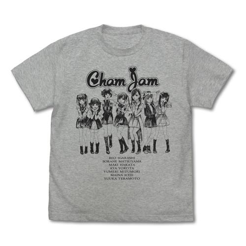 推しが武道館いってくれたら死ぬ/推しが武道館いってくれたら死ぬ/ChamJamメンバー Tシャツ