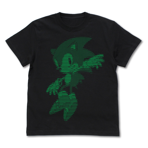 ソニック・ザ・ヘッジホッグ/ソニック・ザ・ヘッジホッグ/ソニック アスキーアートTシャツ