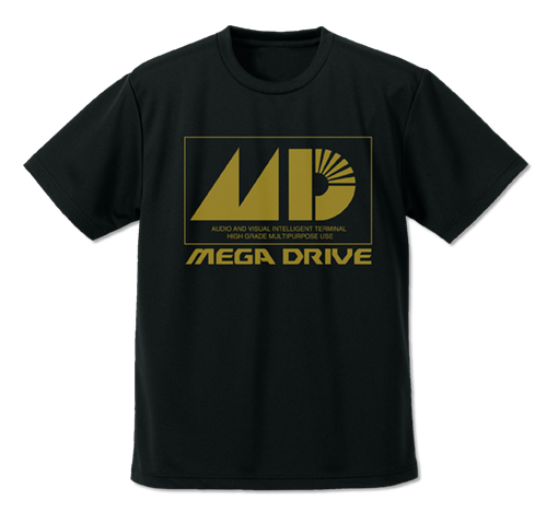 SEGA/メガドライブ/メガドライブ ドライTシャツ