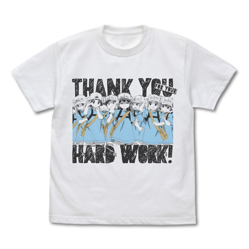 はたらく細胞/はたらく細胞/血小板のおつかれさまです Tシャツ