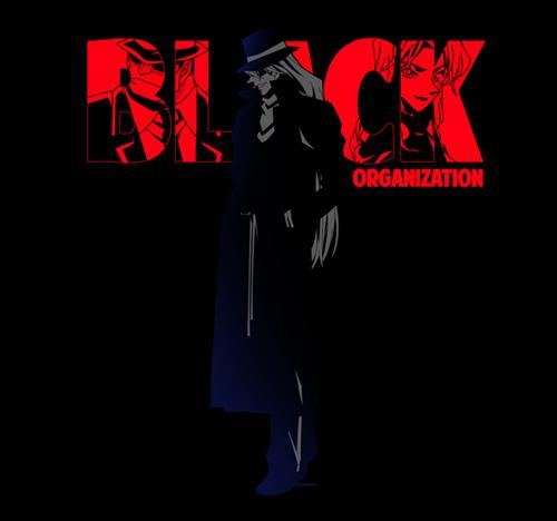 名探偵コナン/名探偵コナン/黒ずくめの組織ビジュアル Tシャツ