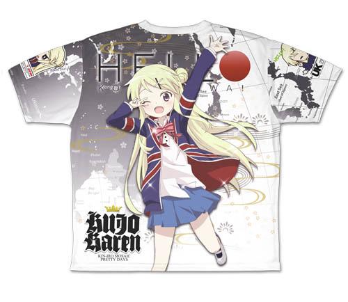 きんいろモザイク/きんいろモザイク Pretty Days/九条カレン 両面フルグラフィックTシャツ