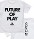 "FUTURE OF PLAY Tシャツ""PlayStatio.."