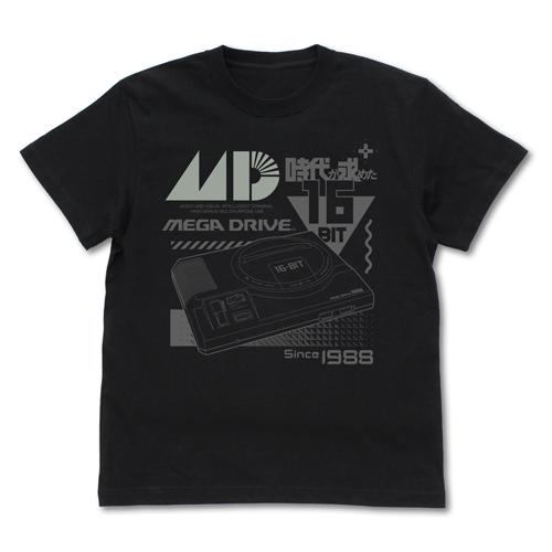 SEGA/メガドライブ/メガドライブ リフレクタープリントTシャツ