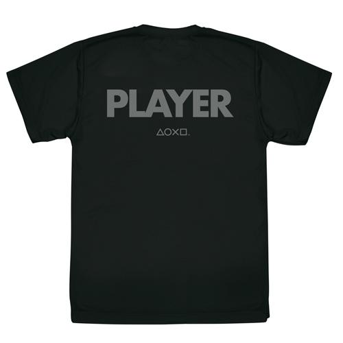 """プレイステーション/プレイステーション/PLAYER ドライTシャツ""""PlayStation"""""""