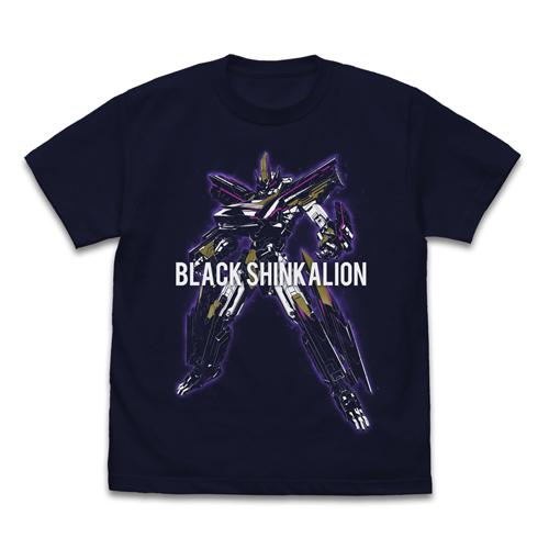 新幹線変形ロボ シンカリオン/新幹線変形ロボ シンカリオン/ブラックシンカリオン Tシャツ