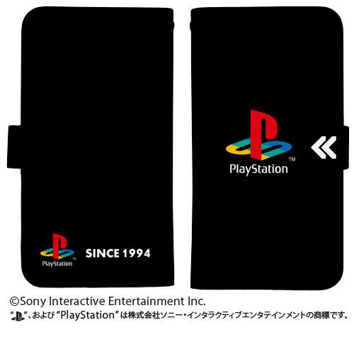 """プレイステーション/プレイステーション/手帳型スマホケース158 初代""""PlayStation"""""""