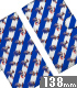 ソニック・ザ・ヘッジホッグ/ソニック・ザ・ヘッジホッグ/ソニック総柄 手帳型スマホケース 138