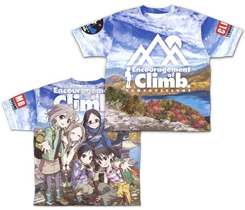 ヤマノススメ/ヤマノススメ サードシーズン/ヤマノススメ 両面フルグラフィックTシャツ