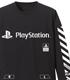 """袖リブロングスリーブTシャツ""""PlayStation"""""""