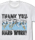 血小板のおつかれさまです Tシャツ