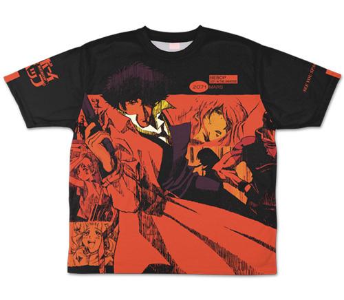 カウボーイビバップ/カウボーイビバップ/カウボーイビバップ 両面フルグラフィックTシャツ
