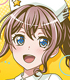 BanG Dream!(バンドリ!)/BanG Dream!(バンドリ!)/BanG Dream! ガールズバンドパーティ! ジャケット風ハンドタオル 山吹沙綾(Poppin'Party)