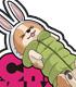 ゆるキャン△/ゆるキャン△/志摩リン 耐水ステッカー