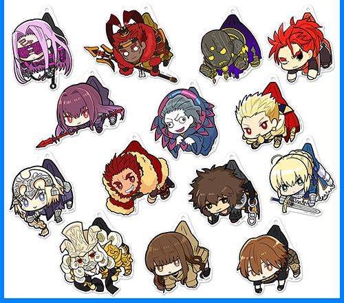 Fate/Fate/EXTELLA LINK/Fate/EXTELLA LINK 李書文 アクリルつままれキーホルダー