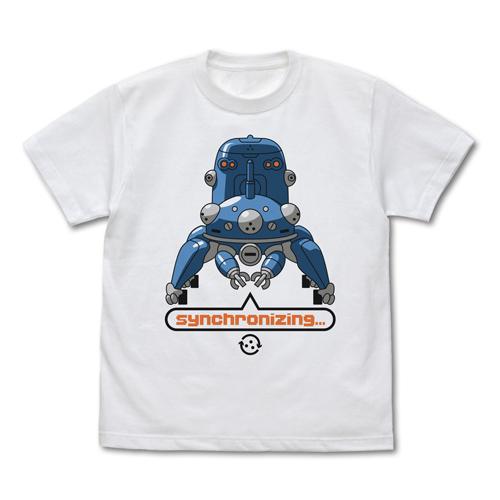 攻殻機動隊/攻殻機動隊 STAND ALONE COMPLEX/タチコマと同期中 Tシャツ
