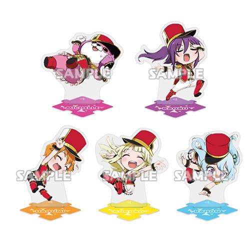 BanG Dream!(バンドリ!)/BanG Dream! ガルパ☆ピコ/BanG Dream! ガルパ☆ピコ つなげて☆アクリルスタンド ハロー、ハッピーワールド!/1ボックス