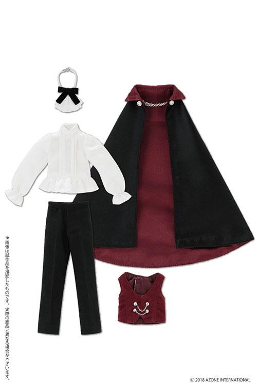 AZONE/Pureneemo Original Costume/POC452-BKB【1/6サイズドール用】PNS 男の子ドラキュラ伯爵セット