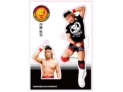 新日本プロレスリング/新日本プロレスリング/フィギュアシートキーホルダー 内藤哲也(4th model)