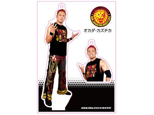 新日本プロレスリング/新日本プロレスリング/フィギュアシートキーホルダー オカダ・カズチカ(5th model)