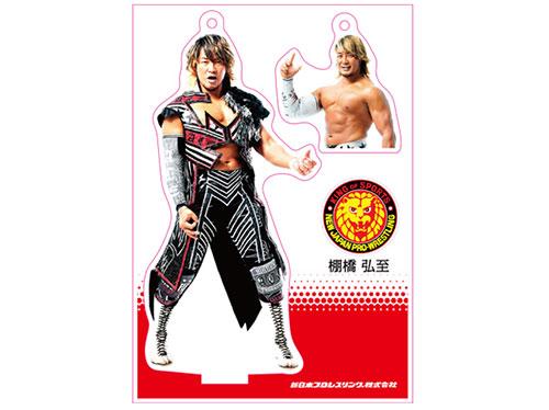 新日本プロレスリング/新日本プロレスリング/フィギュアシートキーホルダー 棚橋弘至(4th model)