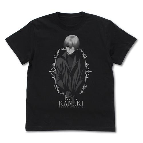 東京喰種トーキョーグール/東京喰種トーキョーグール:re/金木 研 Tシャツ 黒山羊Ver.