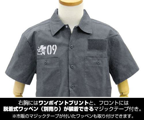 エヴァンゲリオン/EVANGELION/綾波レイ フルカラーワークシャツ