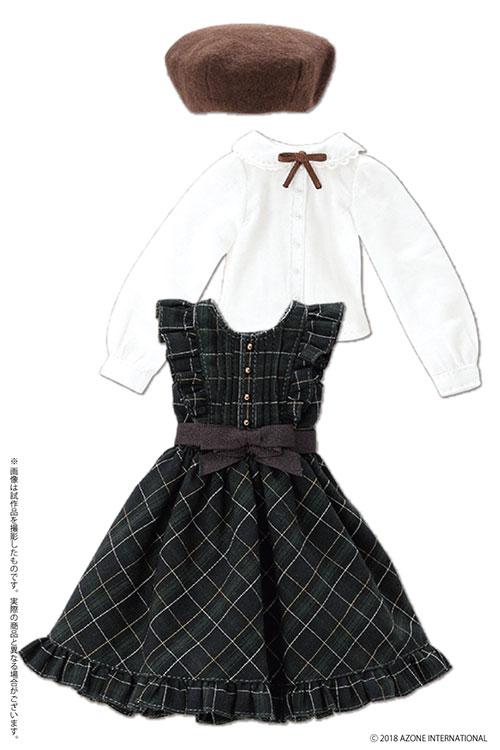 AZONE/Pureneemo Original Costume/POC466【1/6サイズドール用】PNS2 クラシカルチェックジャンスカセット