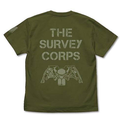 進撃の巨人/進撃の巨人/調査兵団メッセージ Tシャツ