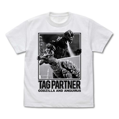 ゴジラ/ゴジラ/★限定★ゴジラ&アンギラス TAG PARTNER Tシャツ