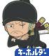 ONE PIECE/ワンピース/ゾロ つままれキーホルダー(スーツVer.)
