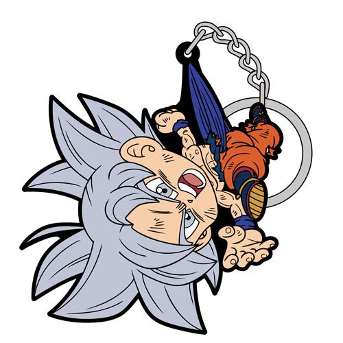 ドラゴンボール/ドラゴンボール超/身勝手の極意 悟空つままれキーホルダー