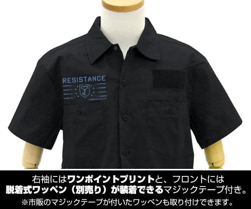 INGRESS/INGRESS THE ANIMATION/レジスタンス ワッペンベースワークシャツ