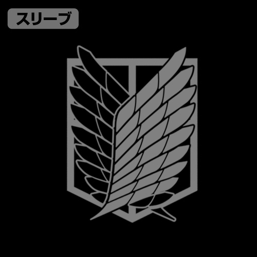 進撃の巨人/進撃の巨人/調査兵団エンブレム M-51ジャケット