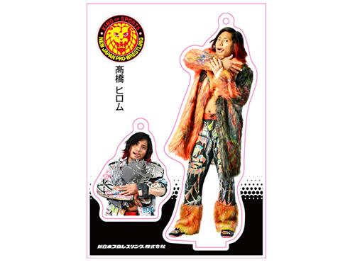 新日本プロレスリング/新日本プロレスリング/フィギュアシートキーホルダー 高橋ヒロム(2nd model)