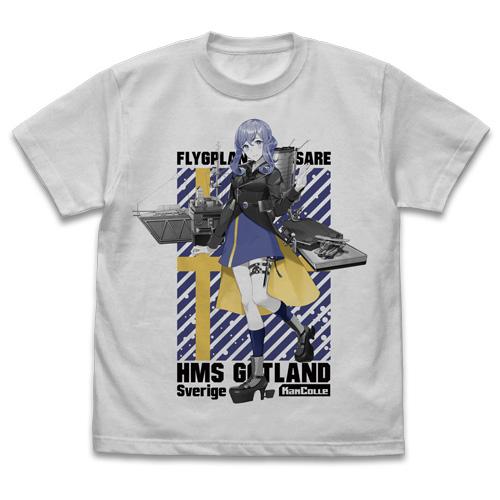 艦隊これくしょん -艦これ-/艦隊これくしょん -艦これ-/★限定★ゴトランド Tシャツ+缶バッジセット