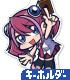 柊柚子 アクリルつままれキーホルダー