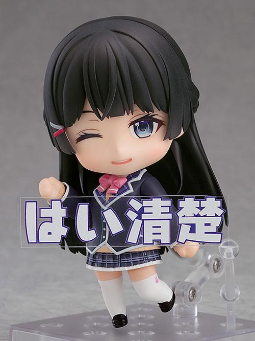 にじさんじ/月ノ美兎/ねんどろいど 月ノ美兎 ABS&PVC 塗装済み可動フィギュア