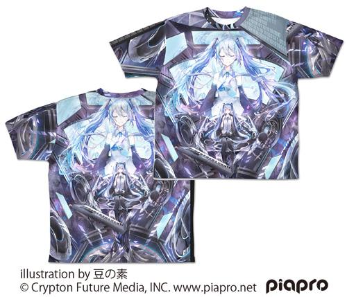 初音ミク/初音ミク/初音ミク Circulator 両面フルグラフィックTシャツ