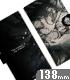 アルベド 手帳型スマホケース138
