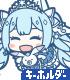 初音ミク/SNOW MIKU 2019/初音ミク 両面フルグラフィックTシャツ SNOW MIKU 2019 Ver.