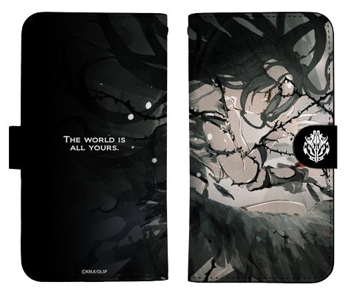 オーバーロード/オーバーロードIII/アルベド 手帳型スマホケース138