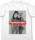 ポプ子&ピピ美 水着Ver. Tシャツ