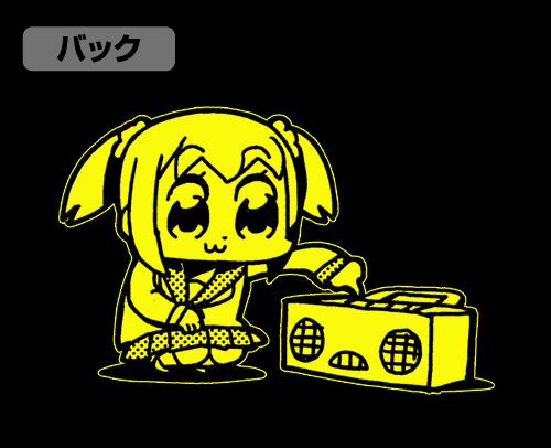 ポプテピピック/ポプテピピック/EDM Tシャツ蓄光Ver.