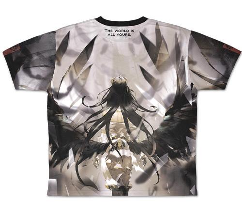 オーバーロード/オーバーロードIII/アルベド 両面フルグラフィックTシャツ