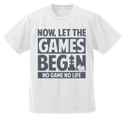 ノーゲーム・ノーライフ/ノーゲーム・ノーライフ/さあゲームを始めよう ドライTシャツ