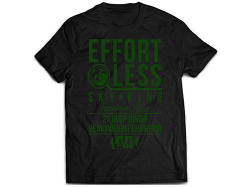新日本プロレスリング/新日本プロレスリング/ウィル・オスプレイ「EFFORTLESS」Tシャツ