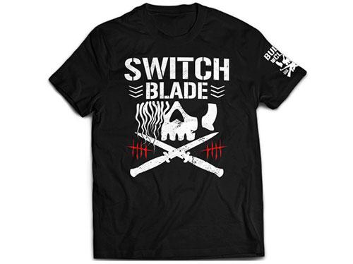 新日本プロレスリング/新日本プロレスリング/ジェイ・ホワイト「SWITCHBLADE BC」Tシャツ