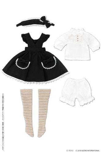 AZONE/Pureneemo Original Costume/PTG008【1/6サイズドール用】LSS よそいきエプロンワンピセット ~by チクロ~