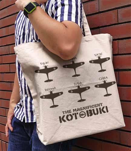 荒野のコトブキ飛行隊/荒野のコトブキ飛行隊/荒野のコトブキ飛行隊 ラージトート